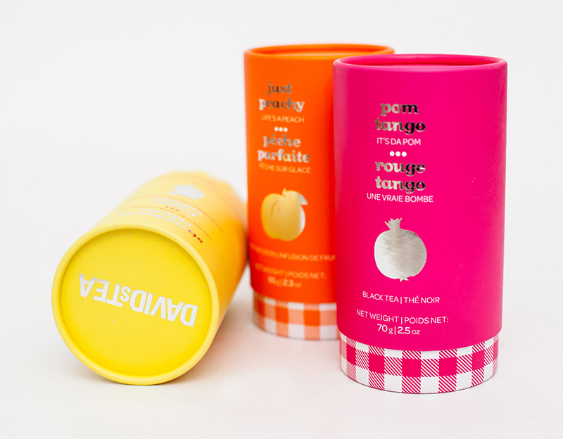 Recyclable Tea Caddy Tea Packaging