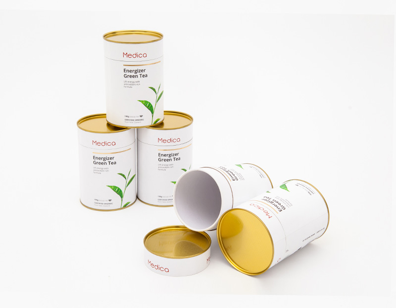 Composite Material Tea Canister